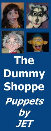The Dummy Shoppe | Puppets by JET